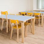 Raasiku PK, söögisaali lauad ja toolid_1