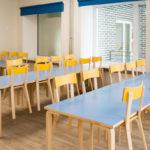 Raasiku PK, söögisaali lauad ja toolid_4